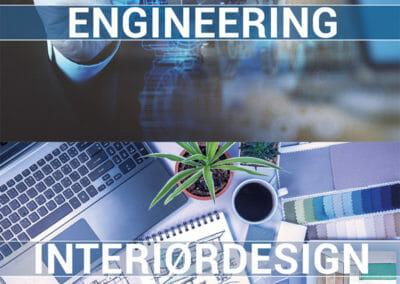Ikoner for Engineering og Interiørdesign