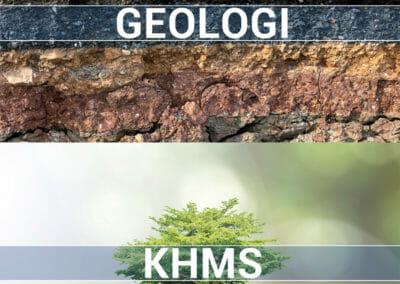 Ikoner for Geologi og KHMS