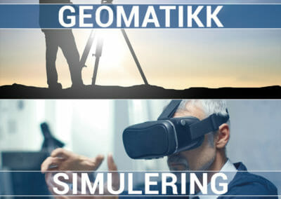 Ikoner for Geomatikk og Simulering