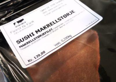 Sushi Makrellstørje
