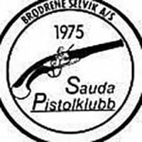 Logoen til Sauda Pistolklubb